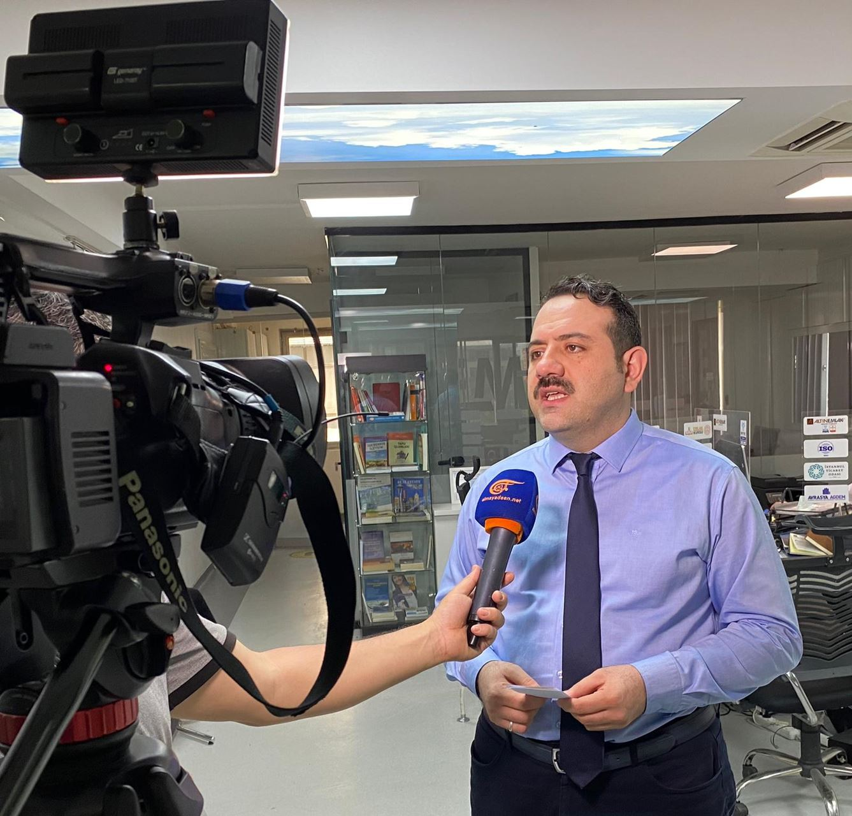 Yönetim Kurulu Başkanımız Dubai ve Al Mayadeen Tv'de