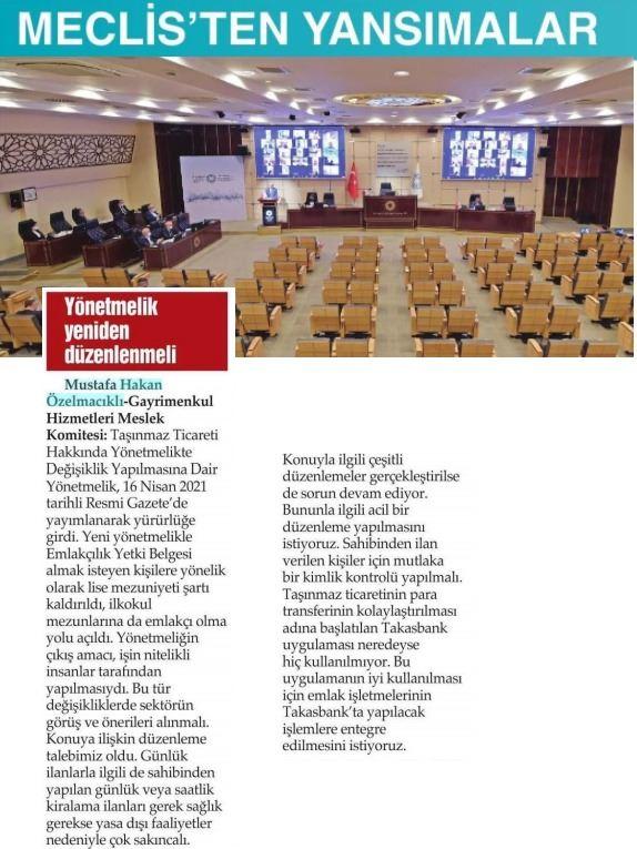 Genel Müdürümüz İTO'da Sektörle İlgili Değerlendirmede Bulundu
