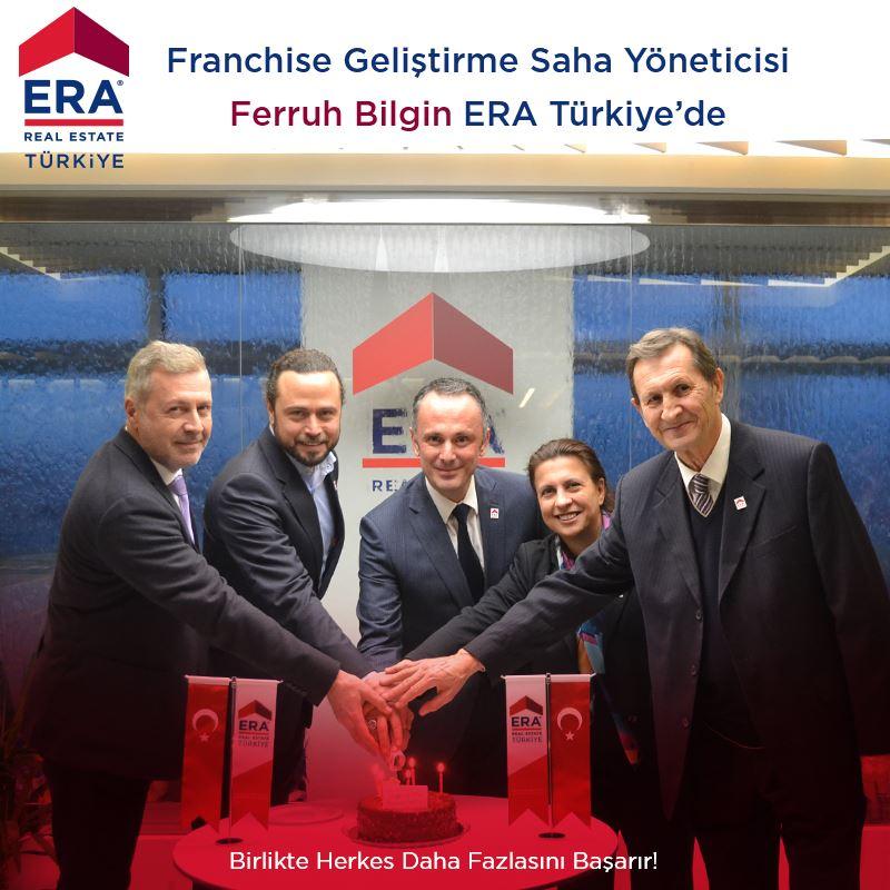 ERA Türkiye Franchise Geliştirme Saha Yönetİcisi  Ferruh Bilgin ERA Ekibinin  En Yeni Üyesi ...