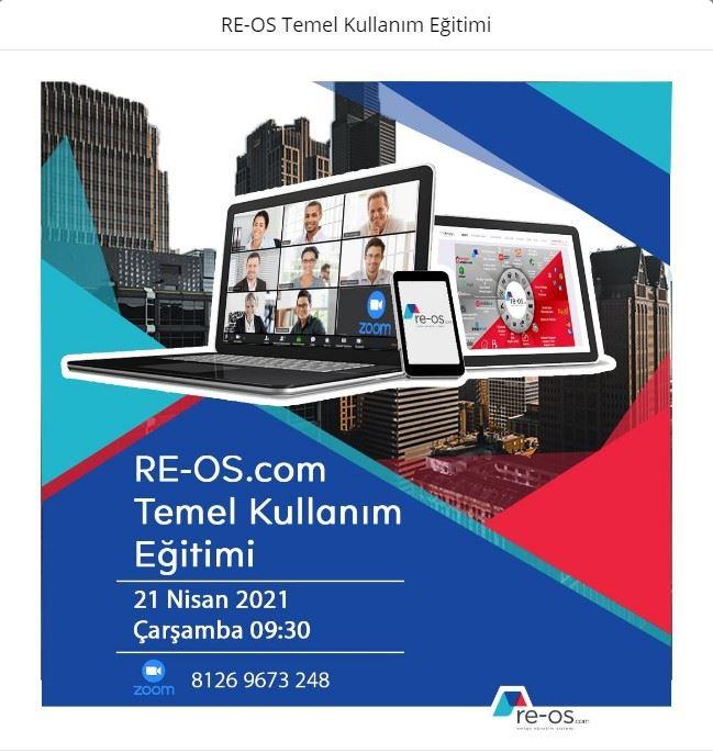 Re-Os.com Temel Kullanım Eğitimi