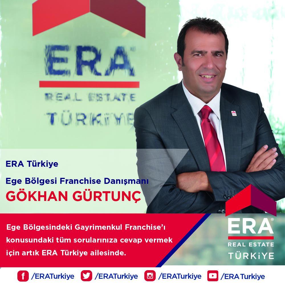Gökhan Gürtunç, Ege Bölgesi Franchise Danışmanı olarak ERA Türkiye'de!