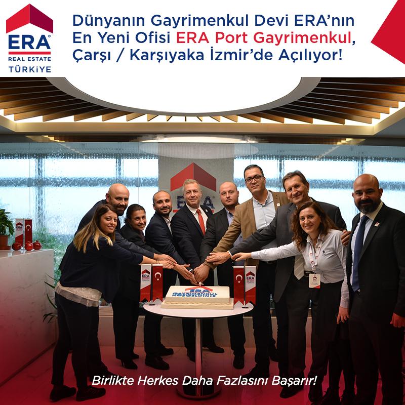Dünyanın Gayrimenkul Devi ERA' nın En Yeni Ofisi ERA Port Çok Yakında Çarşı /Karşıyaka İzmir'de Açılıyor