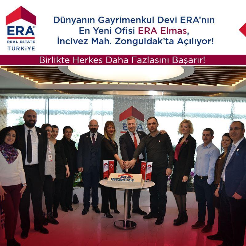 Dünyanın Gayrimenkul Devi ERA'nın En Yeni Ofisi ERA Elmas Zonguldak'ta Çok Yakında Açılıyor!