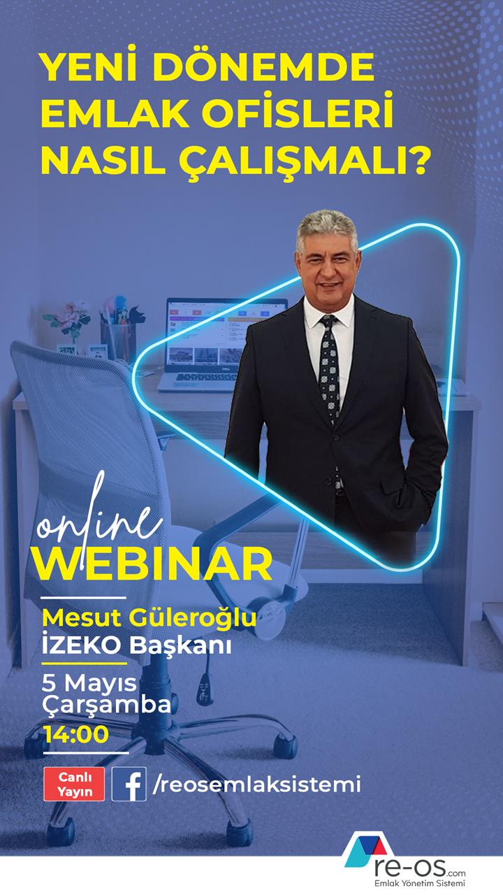 REOS Webinar IZEKO Mesut Güleroğlu