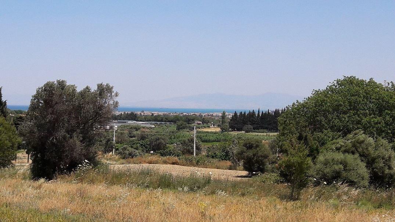 Urla'da Deniz Manzaralı Arsa