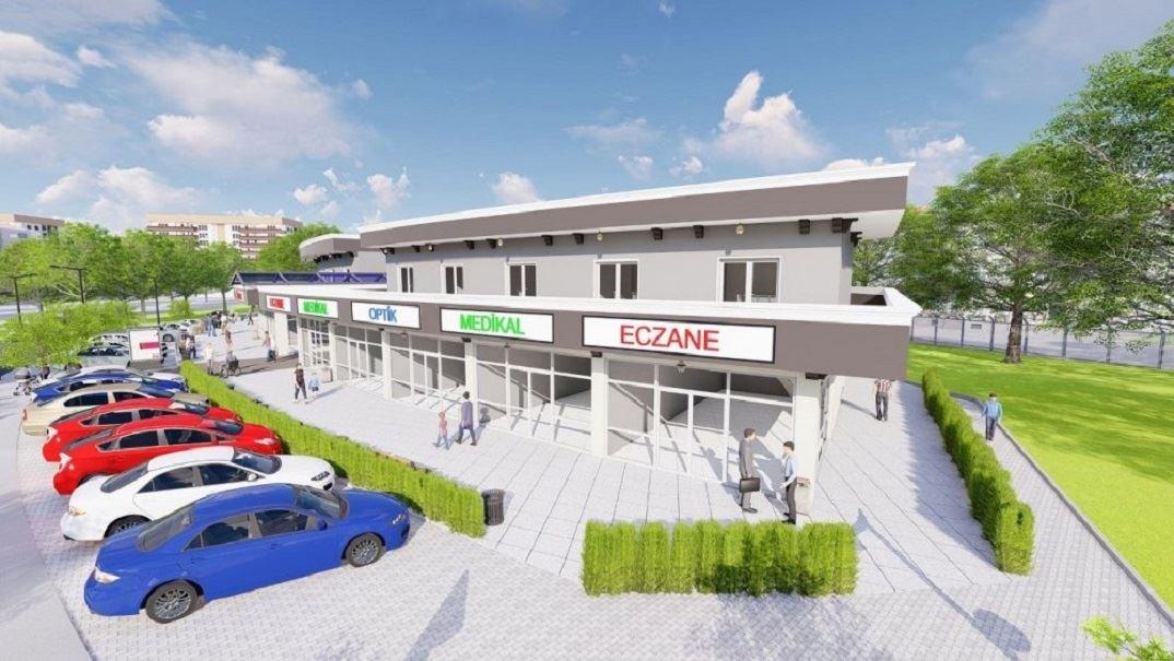Manisa Şehir Hastanesi Karşısı Dükkan