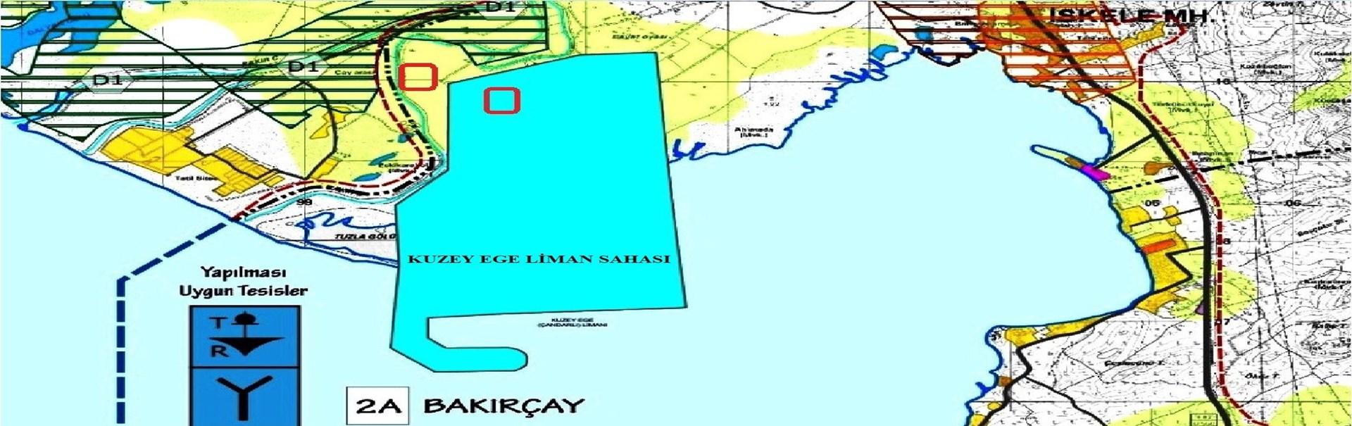 Kuzey Ege Limanı'nda Arsa Yatırım Fırsatı !
