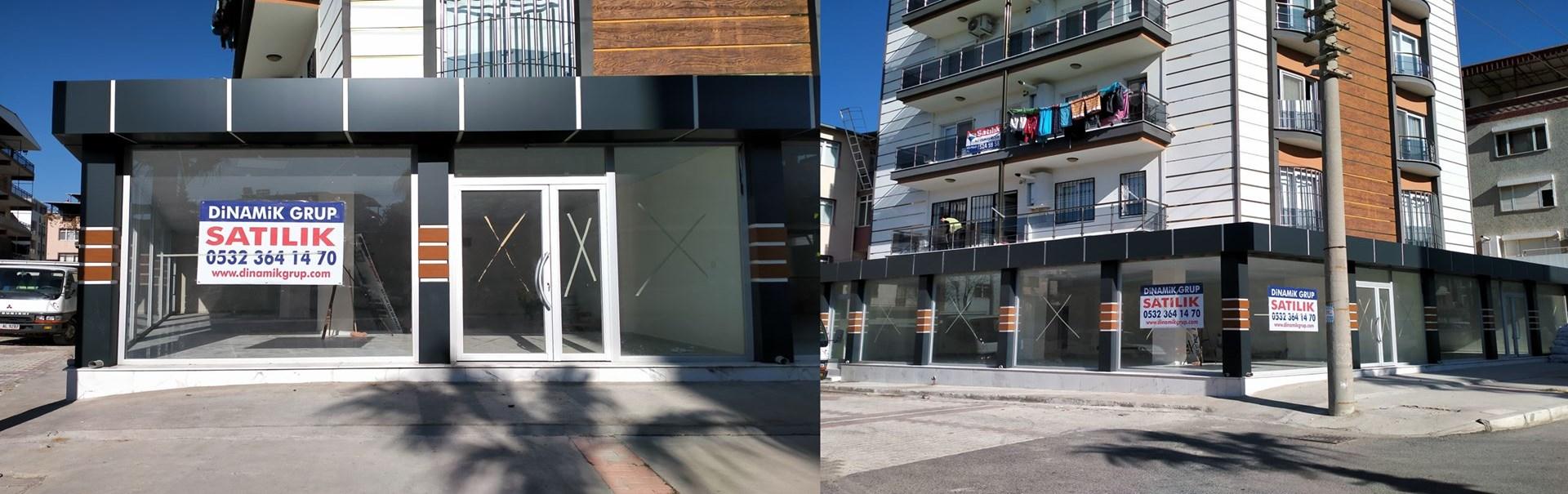 Menemen İnönü'de Bulvar Üstü 130 m2 Satılık Dükkan