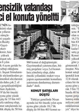 Bursa Hayat Gazetesi - Güvensizlik Vatandaşı İkinci El Konuta Yöneltti