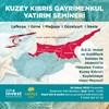 R.E.D. Invest veGoldMark Kıbrıs Gayrimenkul ile Kuzey Kıbrıs'a Gayrimenkul Yatırım Fırsatları Semineri.