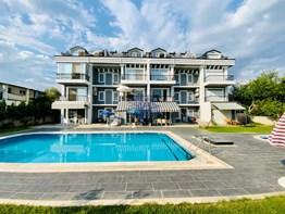 Fethiye Çiftlik mh. eşyalı satılık daire 3+1 150m² bahçe havuzlu