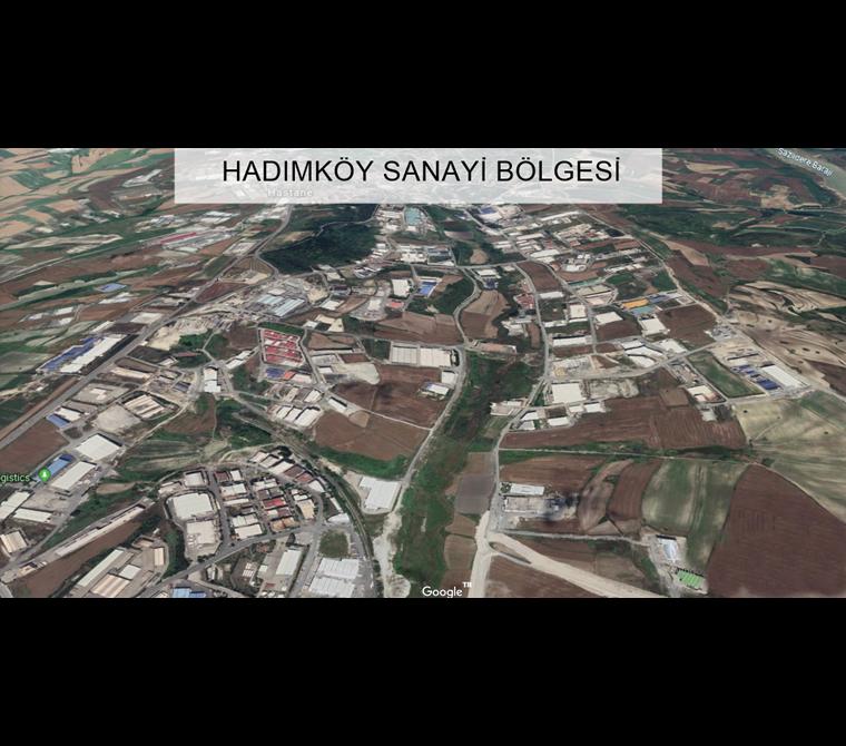 ARNAVUTKÖY ÖMERLİ 2.900 m2 SANAYİ İMARLI ARSA