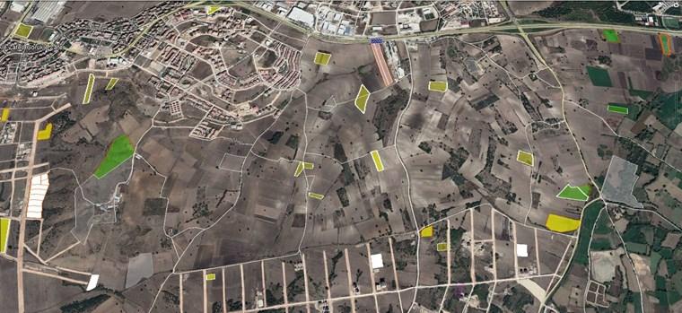 Nilüfer Görükle Mera 1/5000 İmar Planında Satılık 2920 m2 Tarla.