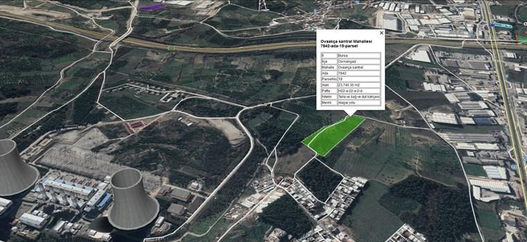 Ovaakça'da İmar Sınırı Satılık 19.500 m2 Yatırımlık Arazi.