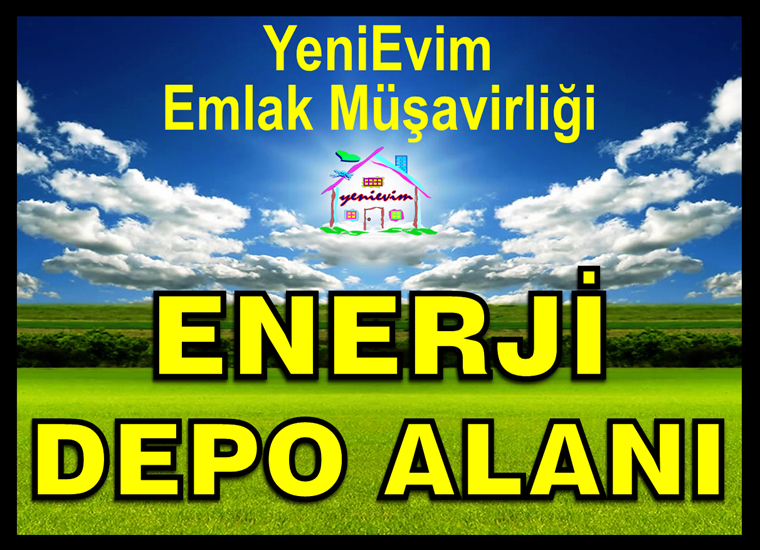 Mersin Kazanlı'da ASFALT YOL KENARI ENERJİ DEPOLAMA TESİS ALANI.