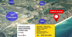 YENİ HAVAALANINA KOMŞU KARADENİZE 2.PARSEL ARSA P-211836
