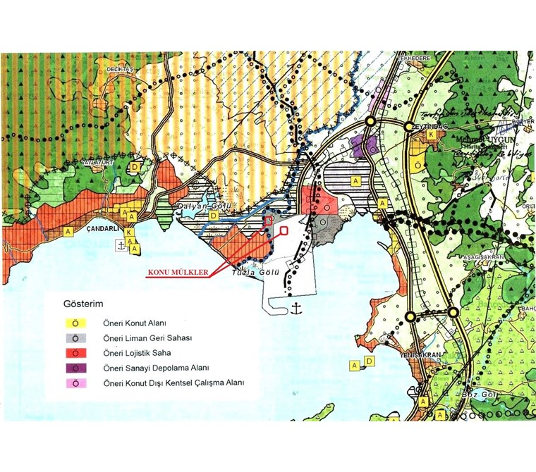 Kuzey Ege Limanı'nda 57.000 m2 Arsa Yatırım Fırsatı !