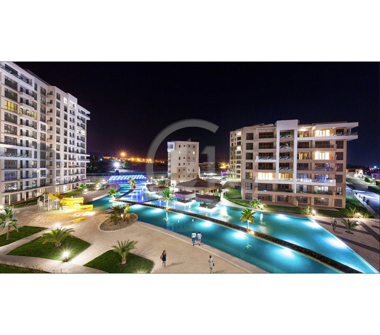 Sinpaş Aqua City'de Havuz Manzaralı 1+1 Satılık Daire 0,99