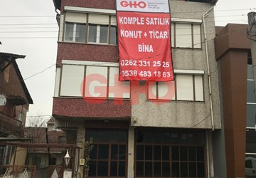 42 EVLER BÖLGESİNDE KOMPLE SATILIK KONUT+TİCARİ BİNA