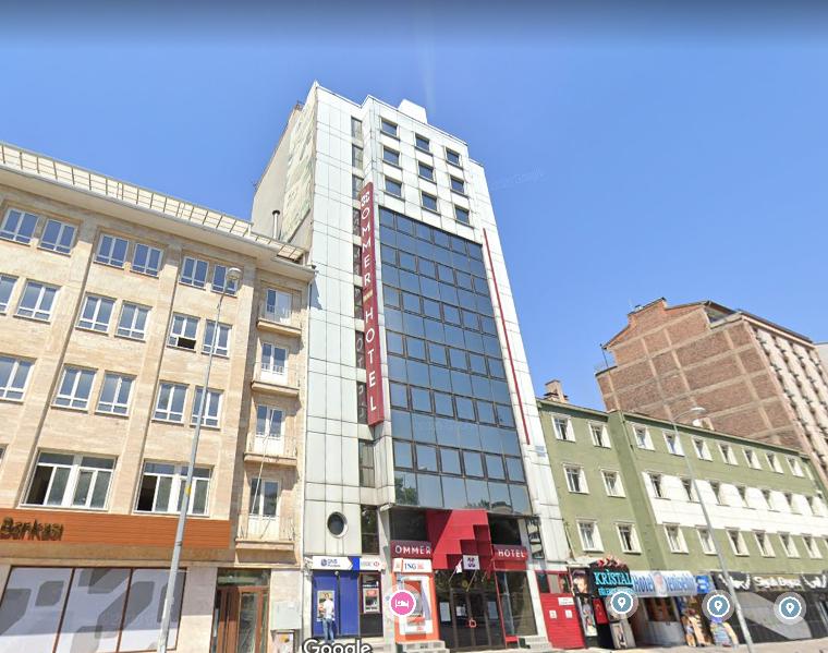 OMMER HOTEL ANKARA / SATILIK TİCARİ NİTELİKLİ BİNA ( P-218166 )