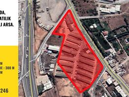 ŞEKERPINAR'DA 33.702 m2 TİCARİ İMARLI ARSA P206591
