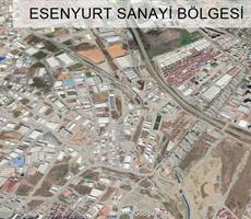 ESENYURT ÇAKMAKLI ANA YOL'a CEPHE 10.000 m2 SANAYİ İMARLI ARSA
