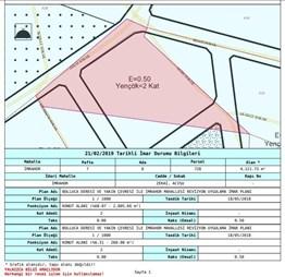 ARNAVUTKÖY İMRAHOR'DA 4050 M² ARSA İÇİNDE 180 M² SATILIK HİSSE