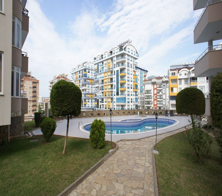 2+1 For Sale Apartment in Tosmur, Alanya