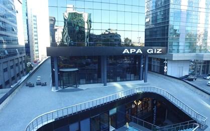 Levent Apa Giz Plaza'da Satılık Yüksek Kat Ofis