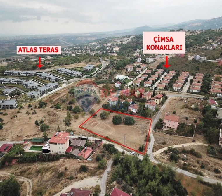REMAX LOCA'DAN ÇİMSA KONAKLARI-ATLAS TERAS ARASI VİLLALIK ARSA