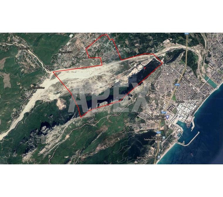Antalya Konyaaltı Satılık Tarla - Yatırımlık Çakırlarda -Rw Apex