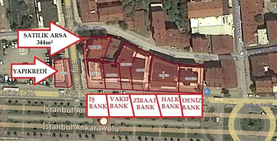 BANKALAR CADDESİNDE SATILIK TİCARİ ARSA - 2