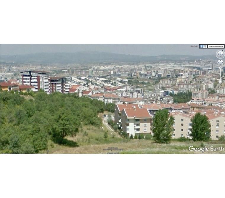 Nilüfer Gümüştepe'de 0.40 Villa İmarlı Manzaralı 660m2 Satılık A