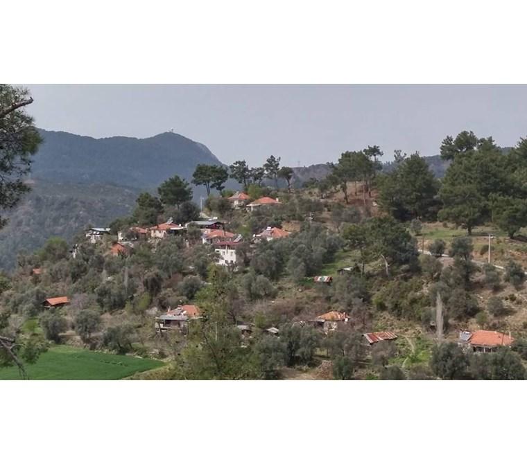 Dalaman kızılkaya köyünde satılık 11,620 m2 tarla