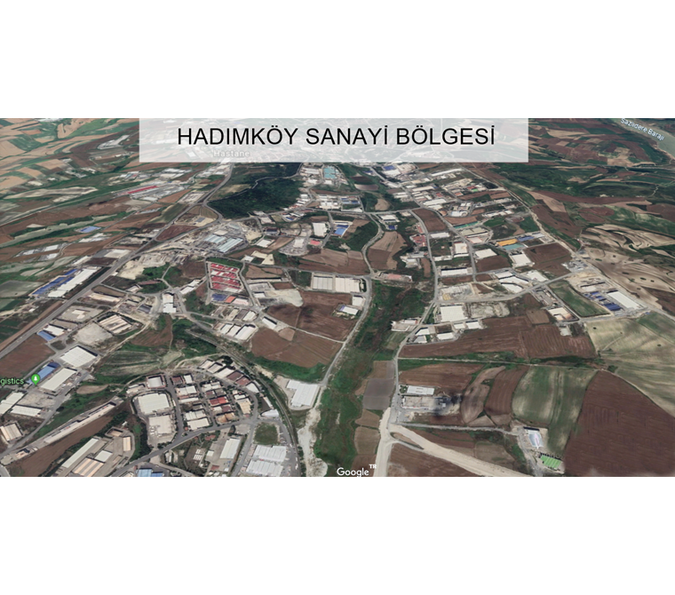 HADIMKÖY SANAYİ'de 17.000 m2 SATILIK SANAYİ İMARLI ARSA