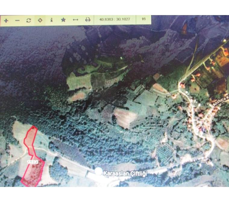 İzmit Kozluca Köy Girişinde Ana Yola Yakın 13262 m2 Tarla