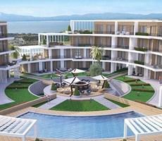 İzmir Çeşme Dalyan Full Deniz Manzaralı Satılık Rezidans