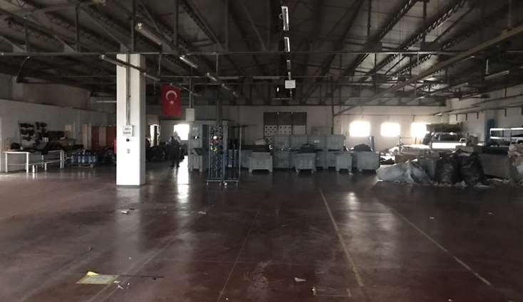 ELFİ den NOSAB DA 1.000 m2 KİRALIK FABRİKA