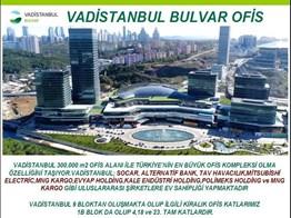 VADİSTANBUL BULVAR KİRALIK OFİS KATLARI P109214