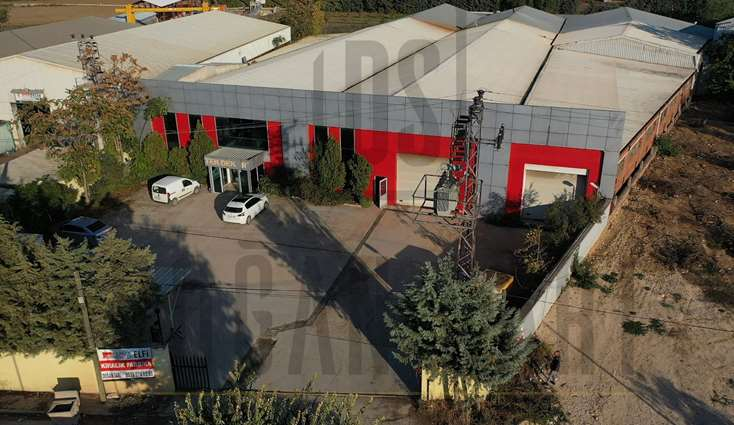 ELFİ den YAYLACIKTA 5.000 m2 TEK KAT KİRALIK FABRİKA