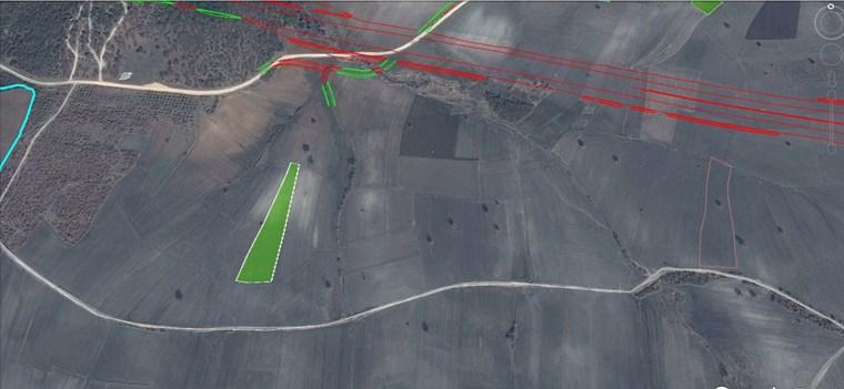 Nilüfer Badırga'da İmar Sınırı Yatırımlık Satılık 6.125 m2 Arazi