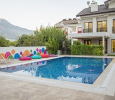 This  new stunning luxury detached 5  bedroom with 1 en-suite villa Located Fethiye Area.
