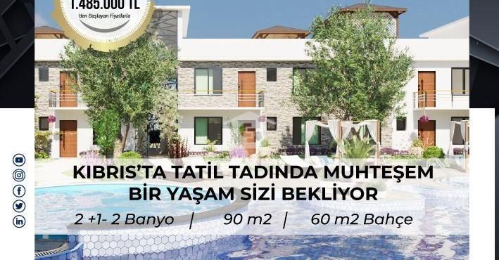 Vedat Kasimi'den Kıbrıs'ta Butik Projede Satılık 2+1 Daireler