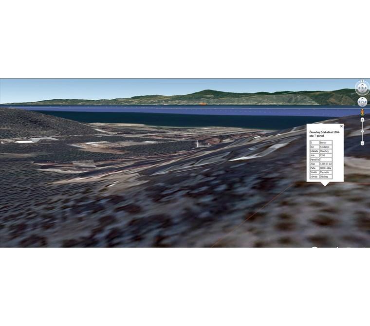 Mudanya Ömerbey'de İmar Bitişiği Deniz Manzaralı 4110m2 Satılık.