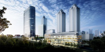 Ferko Signature Levent Projesi'nde Kiralık 862 m2 Ofis
