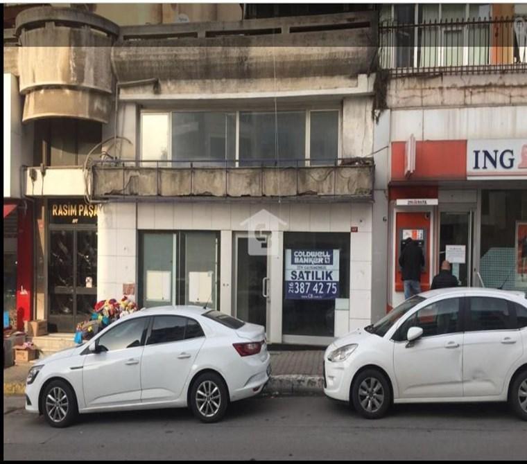 BANKADAN Küçükyalı'da Satılık Asmakatlı Dükkan