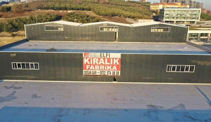 ELFİ den GÖRÜKLE SANAYİ BÖLGESİN DE 1.500 m2 KİRALIK FABRİKA