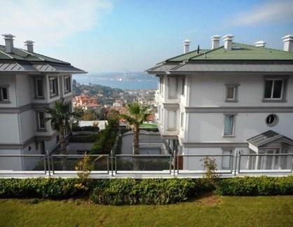 Garden Duplex With Magnificient Bosphorus View for Sale In Çengelkoy