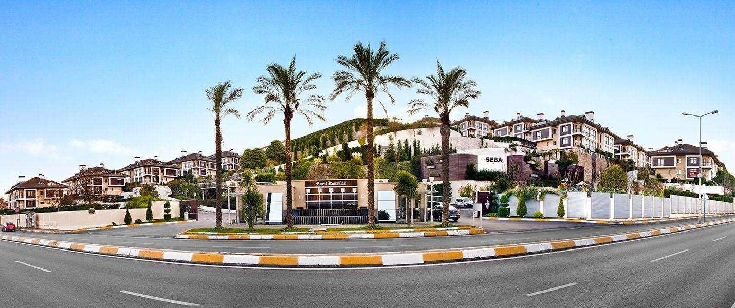 İstinye Seba Royal Konakları'nda Havuzlu Satılık Villa