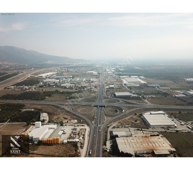 Kemalpaşa Ansızca'da Satılık 5.800 m2 Sanayi İmarlı Arsa